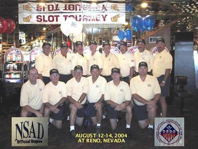 NSAD Umpires 2004
